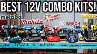 Top 4 Best 12V Tools Combo Kits EVER MADE IN THE WORLD!