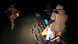 Зимняя рыбалка на ЖЕРЛИЦЫ,ЧП на РЫБАЛКЕ(ОПАСНЫЙ ЛЁД)