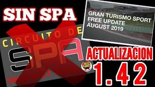 Gran Turismo Sport - Actualización 1.42 - No llegará SPA. Lluvia en Red Bull Ring y 5 coches