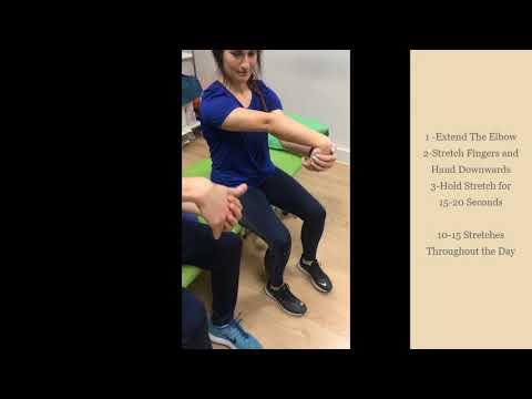 Tennis Elbow Exercises