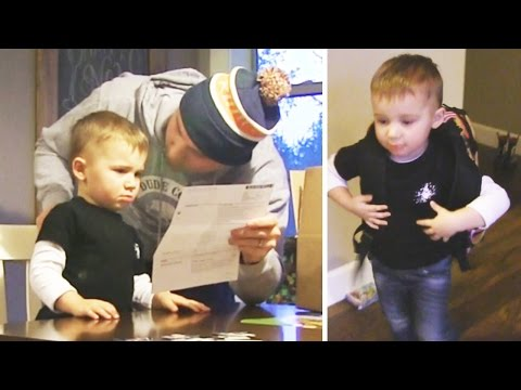 Surprising Son with Adoption Papers