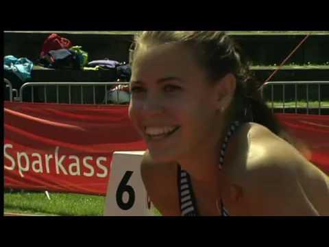 Pamela Dutkiewicz läuft zur Olympia-Norm in Regensburg #sparkassengala
