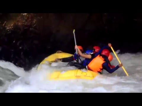 Live and Death Whitewater Rafting Ciberang River Banten Provence Indonesia