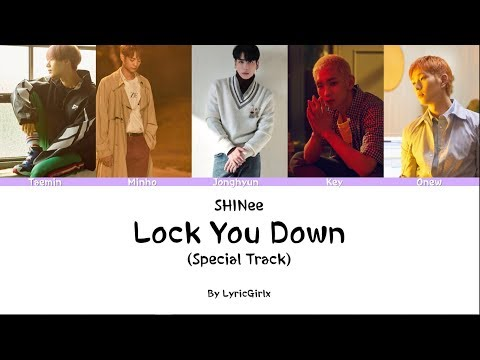 SHINee - Lock You Down (Special Track) LYRICS L Han Rom Eng Ll LyricGirlx