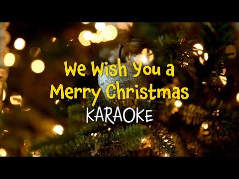 We Wish You a Merry Christmas Karaoke Christmas Carols with Lyrics