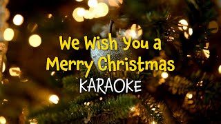 We wish you a Merry Christmas (lyrics video for karaoke)