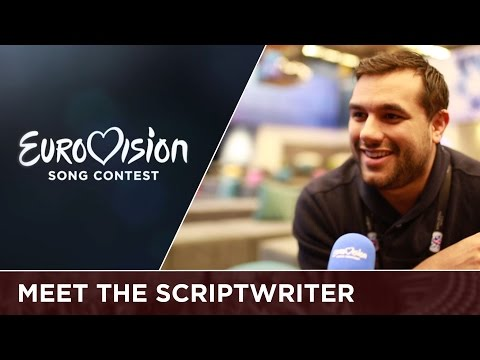 Meet Edward af Sillén the scriptwriter of this years Eurovision Song Contest