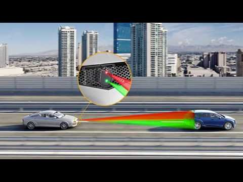 Continental's 3D Hi-Resolution Flash Lidar for automated driving at the Consumer Electronics Show