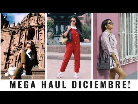 HAUL ZARA Y OTRAS MARCAS BELLAS ( ME PRUEBO TODO)| DICIEMBRE
