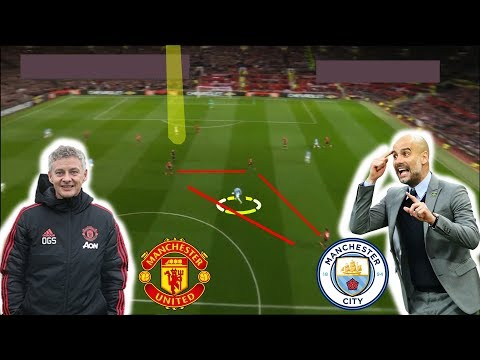 Tactical Analysis | Manchester United 0-2 Manchester City | Goals Bernardo, Sane | Solskjaer v Pep