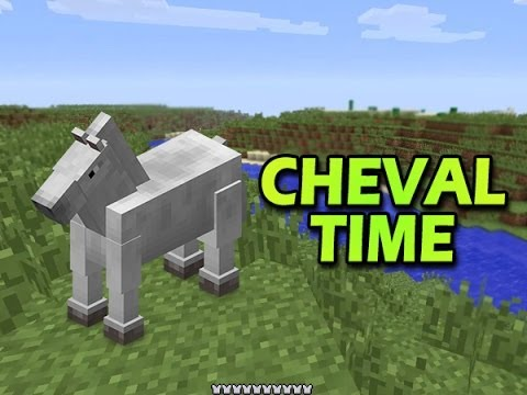 Minecraft ep 14 cheval time youtube - Cheval minecraft ...