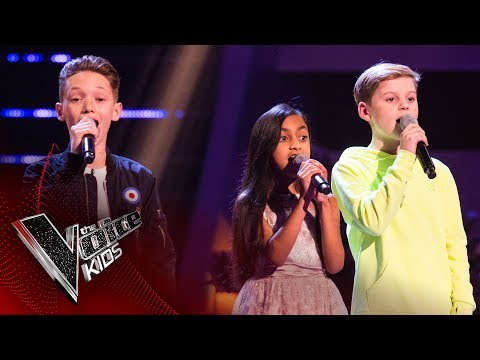 Devon, Leah, Lewis - 'Thinking Out Loud': Battles | The Voice Kids UK 2017