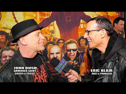 John Bush & Eric Blair talk Dio Gala ,New Armored Saint music and RNR Hall 2020