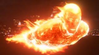 Доктор Дум устраняет Человека-факела. Фантастическая четверка. 2005