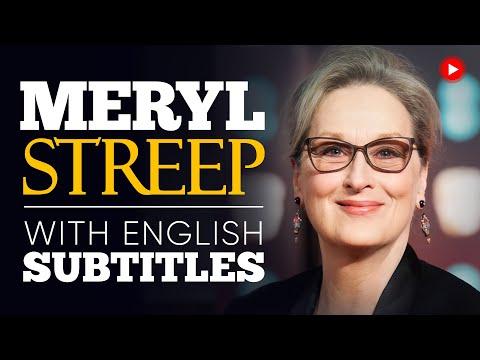 ENGLISH SPEECH   MERYL STREEP: Stand Up and Speak Up (English Subtitles)