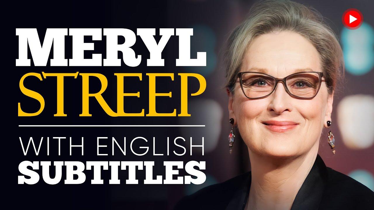 Download ENGLISH SPEECH | MERYL STREEP: Stand Up and Speak Up (English Subtitles)