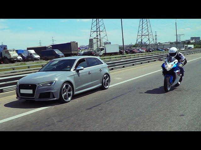 Audi RS3 Тест-драйв. Anton Avtoman