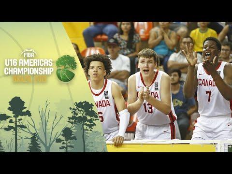 Canada V Brazil - FIBA U16 Americas Championship 2019 [POR]