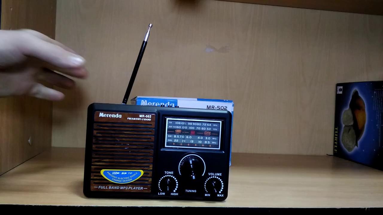 Радиоприемник Merenda MR-502 с USB проигрывателем