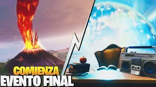 THE FINAL EVENT STARTS NOW IN BALSA BOTIN AND VOLCAN ? FORTNITE: Battle Royale