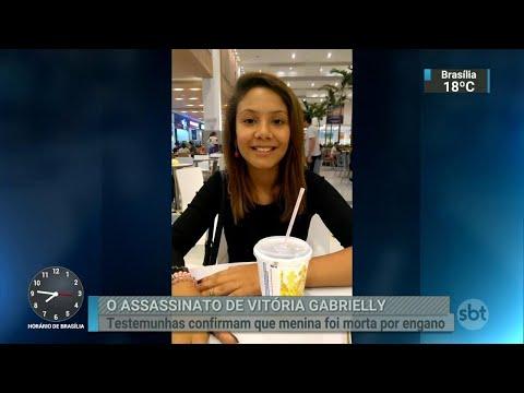 Polícia conclui a investigação do caso Vitória Gabrielly | SBT Brasil (04/07/18)