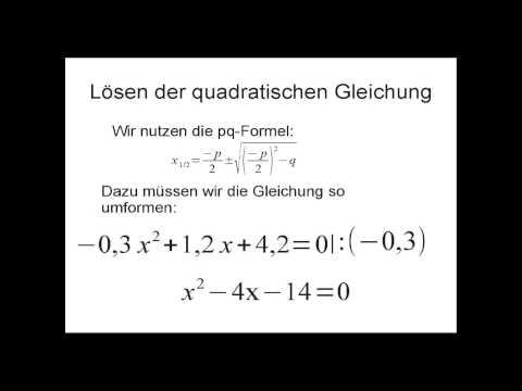 Schiefer Wurf (1/4), wichtigste Gleichungen, Flugzeit from YouTube · Duration:  11 minutes