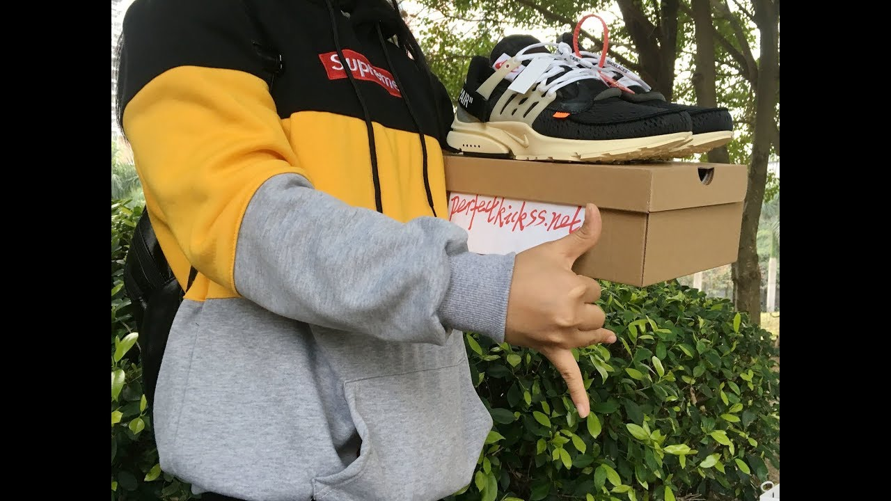 11a719b3f67 OFF WHITE x Nike Air Presto Final Version unboxing review from CNgirl Super