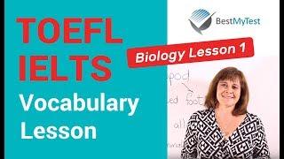 TOEFL Vocabulary - Biology Lesson 1