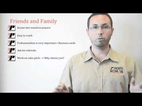 Quick Ways to Make Money with Tax Courses: Pronto Tax Class – Part 1