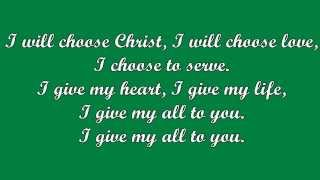 I Will Choose Christ (Tom Booth)