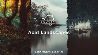 # 11 Saduint | Acid Landscapes | Lightroom Tutorial