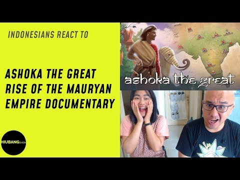 Indonesians React To Ashoka the Great - Rise of the Mauryan Empire Documentary | Kings & Generals
