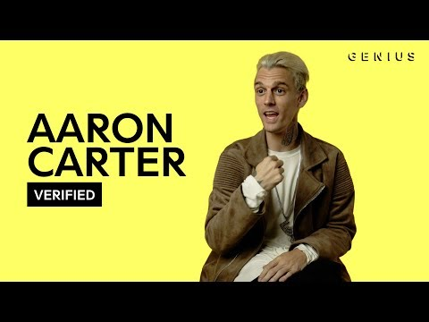 "Aaron Carter ""Sooner Or Later"" Official Lyrics & Meaning 