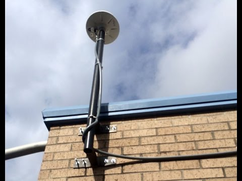 GPS ANTENNAS MOUNTED ON BUILDINGS - PROOF