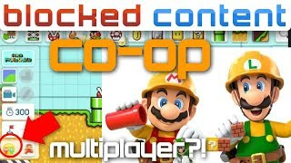 Super Mario Maker 2 has CO-OP MULTIPLAYER?! We Find Out!