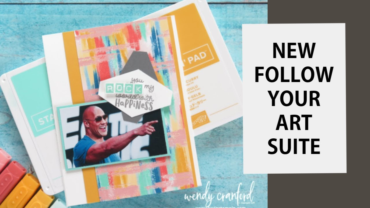 NEW! Follow Your Art Suite 2019-2020 Stampin' UP! Catalog