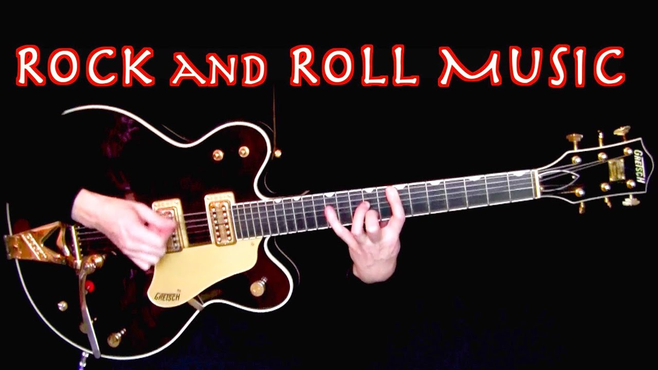 Rock and Roll Music | George's Rhythm Guitar Cover | Isolated