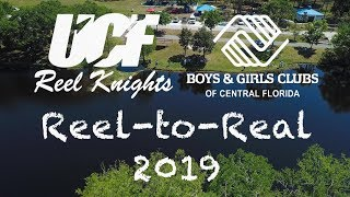Reel-to-Real 2019: UCF Reel Knights Teach Kids How to Fish