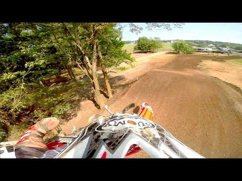 Go Pro HERO 7 James Baldwin Moto win 25+ B raceway park motocross 2019 crf450