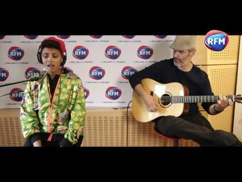 IMANY en live sur RFM - «Don't be so shy» en acoustique