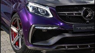 2018 Mercedes-AMG 63 S GLE INFERNO VIOLET by Topcar Design