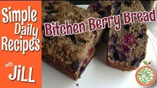 Outstanding Triple Berry Bread from Simple Daily Recipes