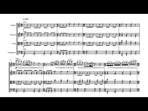 Constant Goddard - String Quartet No. 1 (VIDEO REQUEST)