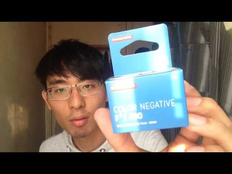 Lomography negative F2/400 film 開箱!