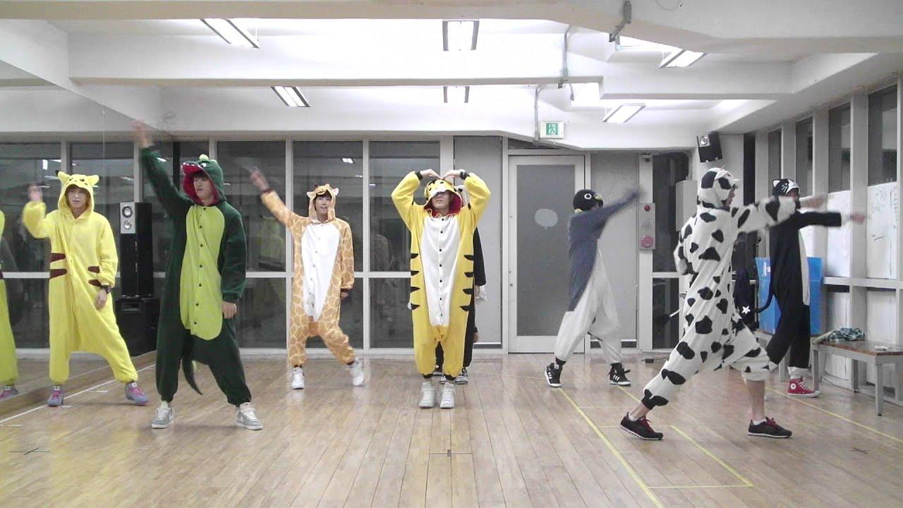 14 funny novelty K-pop dance practices | SBS PopAsia