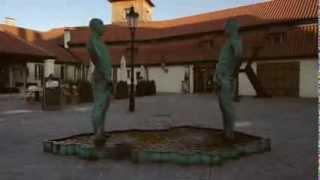 Писающий фонтан в Праге