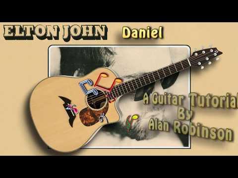 Daniel - Elton John - Acoustic Guitar Lesson