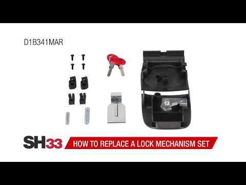 SHAD SH33 Top Case Lock Mechanism Replacement