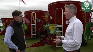 Talking machinery with Pat Kenny from IAM at this year's National Ploughing Championships