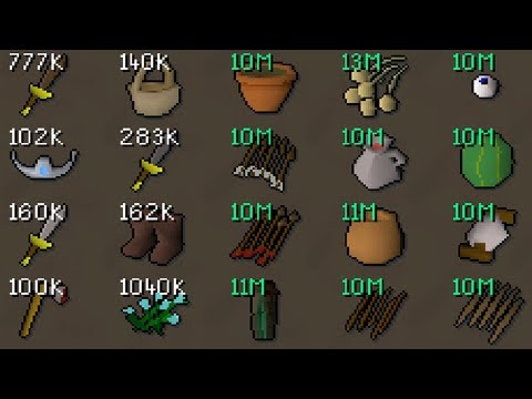The Underground World of Item Hoarding and Collecting! The Largest Item Collections [OSRS]